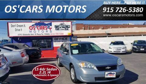 2008 Chevrolet Malibu Classic for sale at Os'Cars Motors in El Paso TX