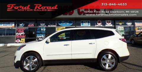 2014 Chevrolet Traverse for sale at Ford Road Motor Sales in Dearborn MI