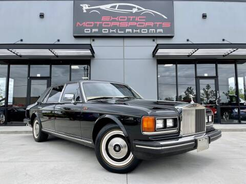 1985 Rolls-Royce Silver Spur for sale at Exotic Motorsports of Oklahoma in Edmond OK