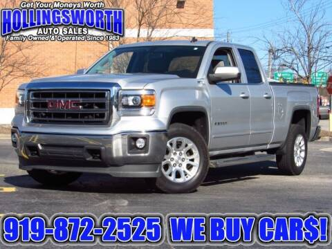 2014 GMC Sierra 1500 for sale at Hollingsworth Auto Sales in Raleigh NC