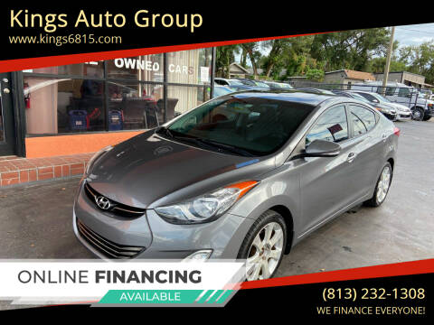2012 Hyundai Elantra for sale at Kings Auto Group in Tampa FL