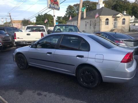 2001 Honda Civic for sale at Techno Motors in Danbury CT