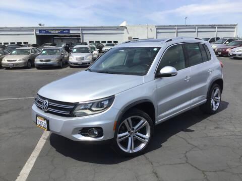 2014 Volkswagen Tiguan for sale at My Three Sons Auto Sales in Sacramento CA