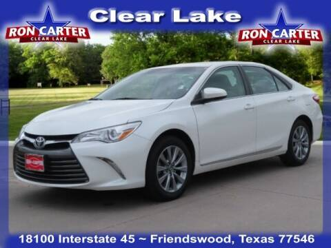 2017 Toyota Camry for sale at Ron Carter  Clear Lake Used Cars in Houston TX