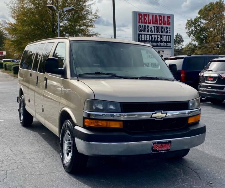 2012 Chevrolet Express Passenger for sale at Reliable Cars & Trucks LLC in Raleigh NC
