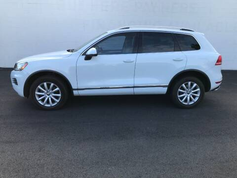 2012 Volkswagen Touareg for sale at Shoppe Auto Plus in Westminster CA