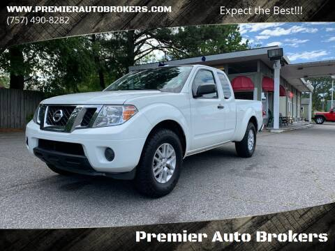 2016 Nissan Frontier for sale at Premier Auto Brokers in Virginia Beach VA