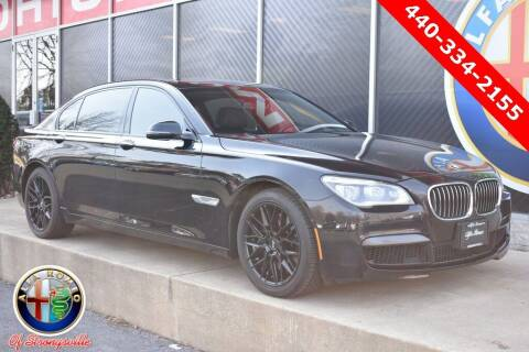 2014 BMW 7 Series for sale at Alfa Romeo & Fiat of Strongsville in Strongsville OH