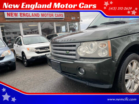 2006 Land Rover Range Rover for sale at New England Motor Cars in Springfield MA