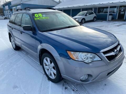 2008 Subaru Outback for sale at HACKETT & SONS LLC in Nelson PA