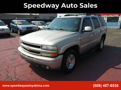 2005 Chevrolet Tahoe for sale at Speedway Auto Sales in Yakima WA