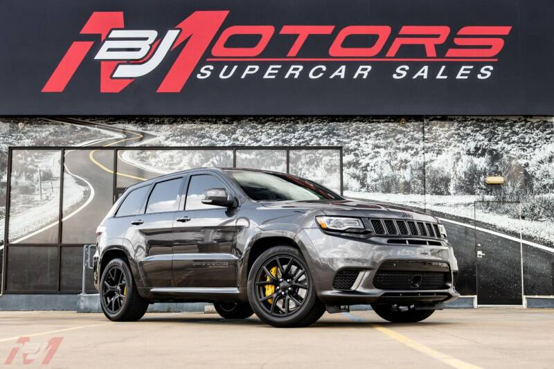 2018 Jeep Grand Cherokee for sale at BJ Motors in Tomball TX