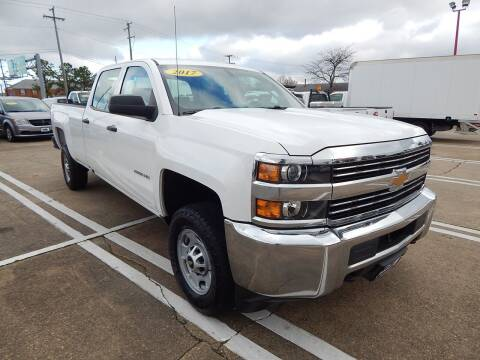 2017 Chevrolet Silverado 2500HD for sale at Vail Automotive in Norfolk VA