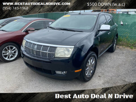 2009 Lincoln MKX for sale at Best Auto Deal N Drive in Hollywood FL