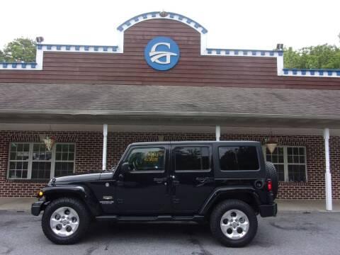 2013 Jeep Wrangler Unlimited for sale at Gardner Motors in Elizabethtown PA