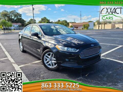 2014 Ford Fusion for sale at Exxact Cars in Lakeland FL