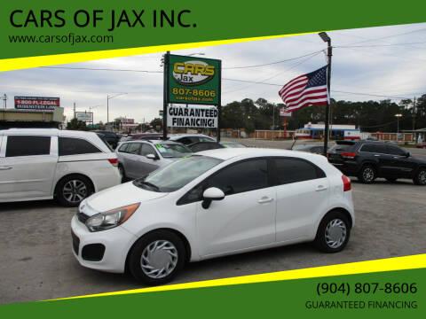 2013 Kia Rio 5-Door for sale at CARS OF JAX INC. in Jacksonville FL
