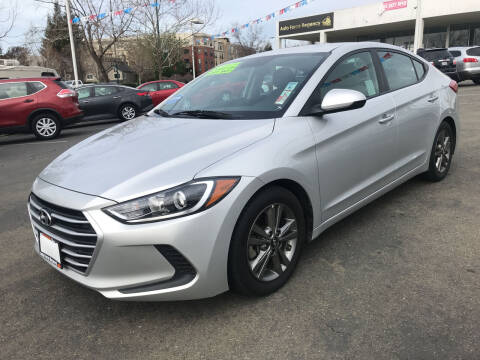 2018 Hyundai Elantra for sale at Autos Wholesale in Hayward CA