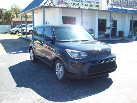 2015 Kia Soul for sale at LONGSTREET AUTO in St Augustine FL