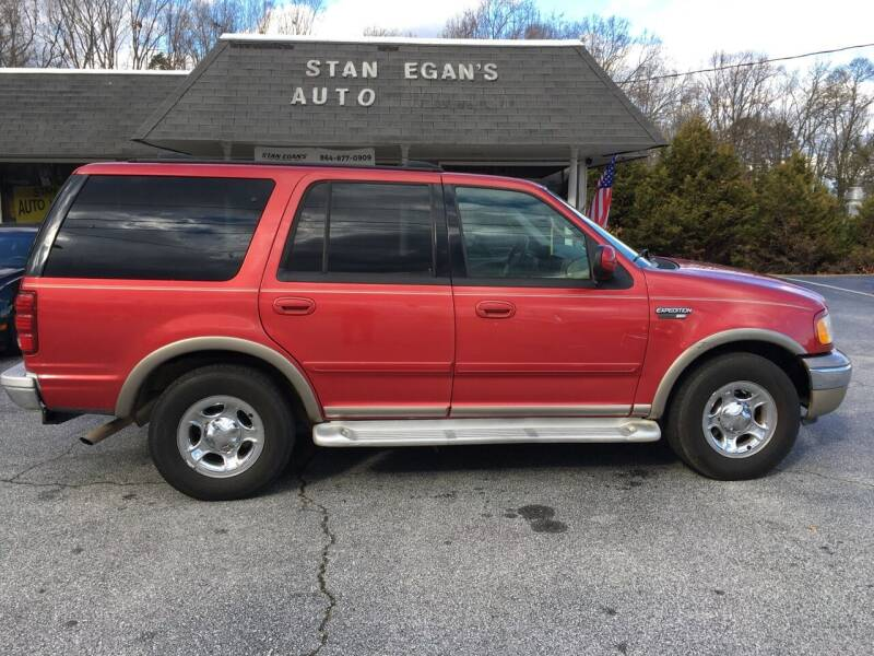 2002 Ford Expedition for sale at STAN EGAN'S AUTO WORLD, INC. in Greer SC