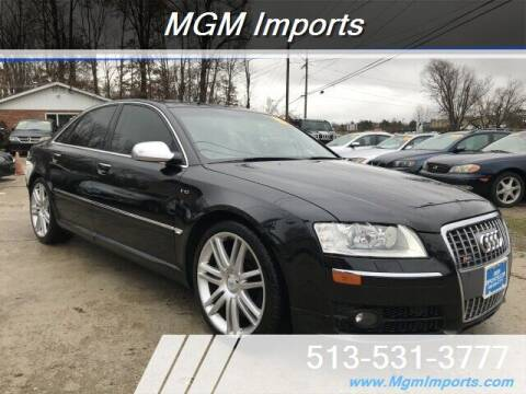 2007 Audi S8 for sale at MGM Imports in Cincannati OH