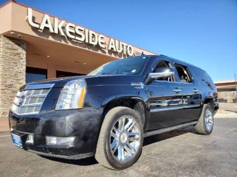 2013 Cadillac Escalade ESV for sale at Lakeside Auto Brokers Inc. in Colorado Springs CO