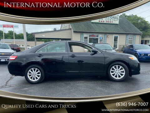 2010 Toyota Camry for sale at International Motor Co. in St. Charles MO