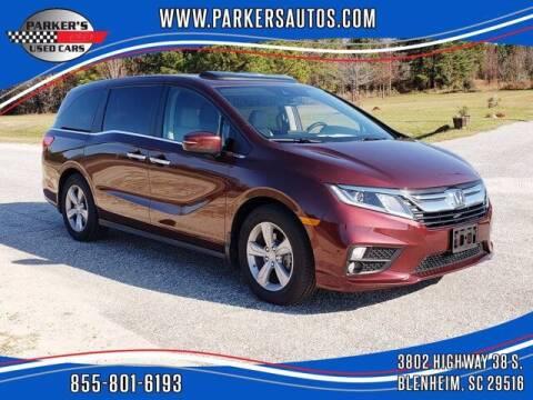 2019 Honda Odyssey for sale at Parker's Used Cars in Blenheim SC