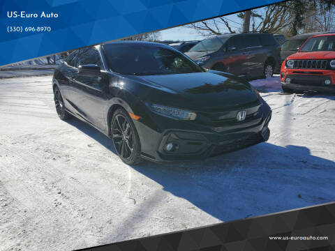 2020 Honda Civic for sale at US-Euro Auto in Burton OH