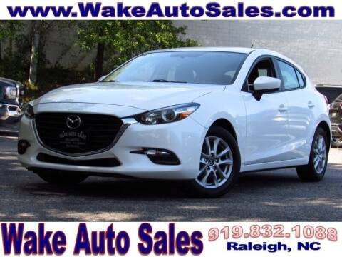 2017 Mazda MAZDA3 for sale at Wake Auto Sales Inc in Raleigh NC