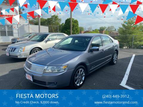 2006 Lincoln Zephyr for sale at FIESTA MOTORS in Hagerstown MD