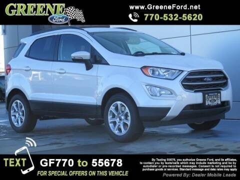 2021 Ford EcoSport for sale at Nerd Motive, Inc. - NMI in Atlanta GA