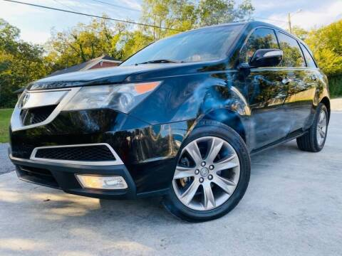 2012 Acura MDX for sale at E-Z Auto Finance in Marietta GA