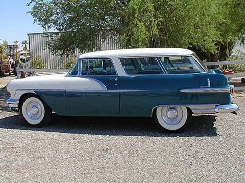 1956 Pontiac Safari for sale at Collector Car Channel - Desert Gardens Mobile Homes in Quartzsite AZ