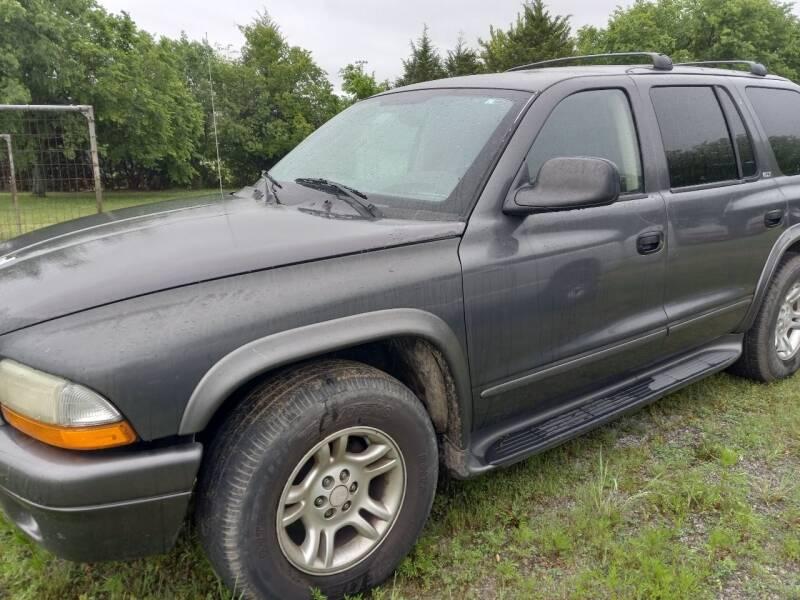 2002 Dodge Durango for sale in Bowlegs, OK