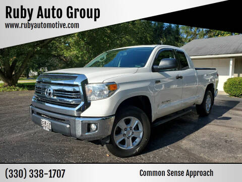 2016 Toyota Tundra for sale at Ruby Auto Group in Hudson OH
