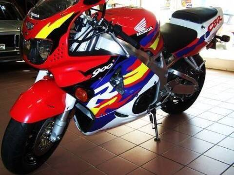 1996 Honda CBR 900RR Fireblade for sale at Peninsula Motor Vehicle Group in Oakville Ontario NY