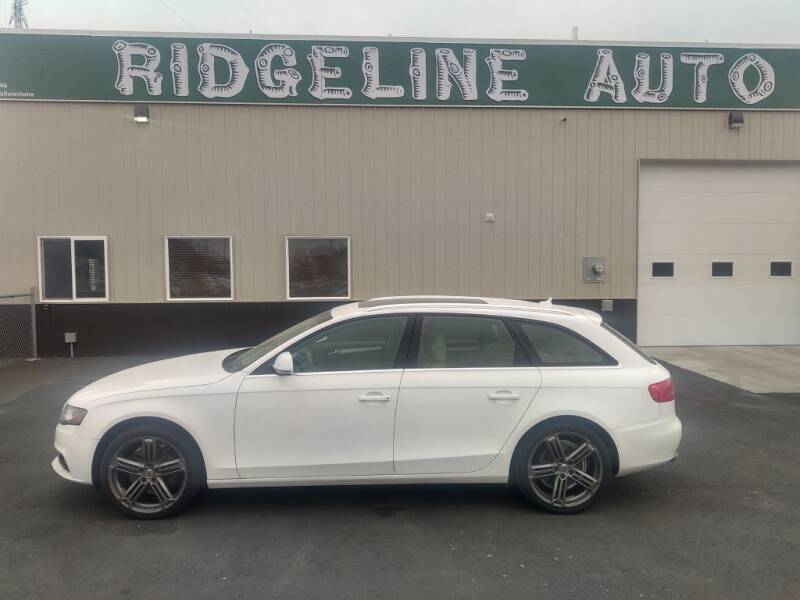 2009 Audi A4 for sale at RIDGELINE AUTO in Chubbuck ID