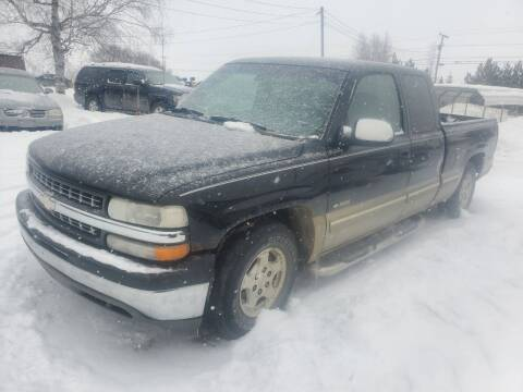 2000 Chevrolet Silverado 1500 for sale at Jeff's Sales & Service in Presque Isle ME