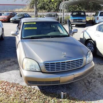 2004 Cadillac DeVille for sale at Easy Credit Auto Sales in Cocoa FL