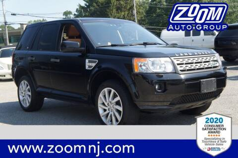 2012 Land Rover LR2 for sale at Zoom Auto Group in Parsippany NJ