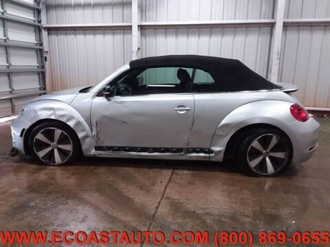 2013 Volkswagen Beetle Convertible for sale at East Coast Auto Source Inc. in Bedford VA