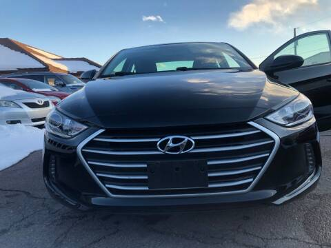 2018 Hyundai Elantra for sale at STATEWIDE AUTOMOTIVE LLC in Englewood CO