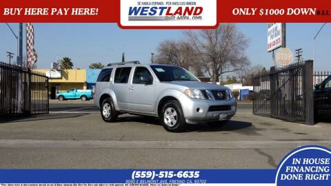 2008 Nissan Pathfinder for sale at Westland Auto Sales on 7th in Fresno CA
