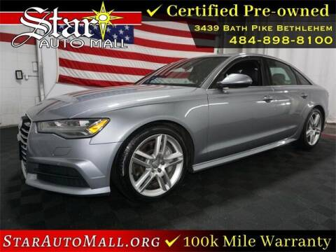 2017 Audi A6 for sale at STAR AUTO MALL 512 in Bethlehem PA