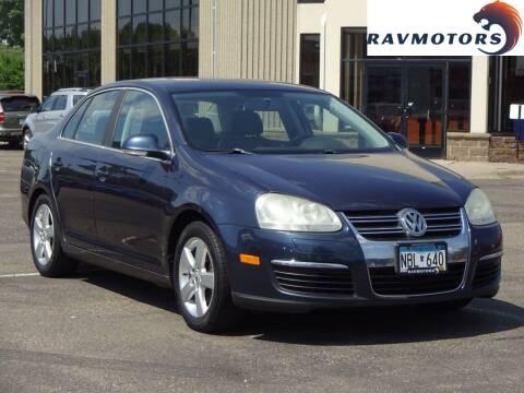 2008 Volkswagen Jetta for sale at RAVMOTORS 2 in Crystal MN