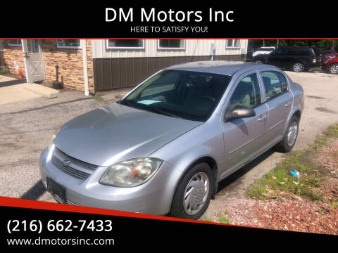 2010 Chevrolet Cobalt for sale at DM Motors Inc in Maple Heights OH