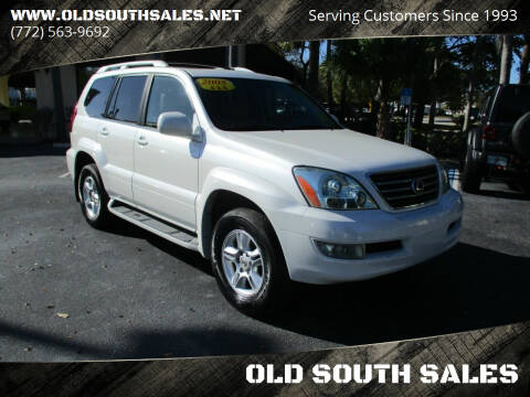 2006 Lexus GX 470 for sale at OLD SOUTH SALES in Vero Beach FL