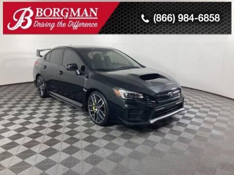 2020 Subaru WRX for sale at BORGMAN OF HOLLAND LLC in Holland MI