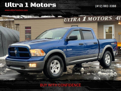 2009 Dodge Ram Pickup 1500 for sale at Ultra 1 Motors in Pittsburgh PA